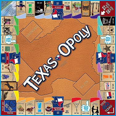Texas-Opoly - The Monopoly Board Game for Texans