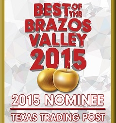 Best of the Brazos Valley - 2015 - PLEASE VOTE