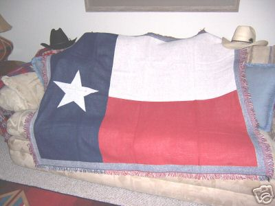 Texas Flag Blanket