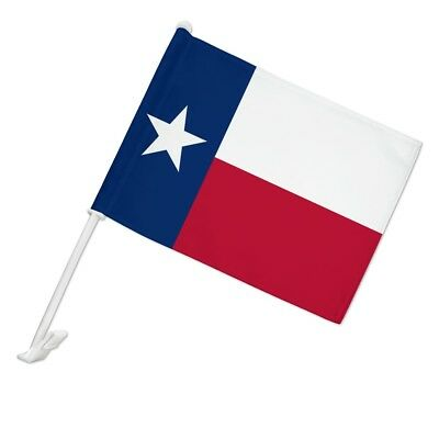 Texas Parade Flag for (Window of) Cars and Trucks