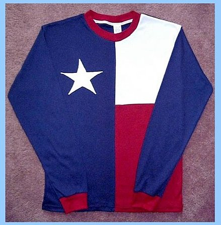 Texas Flag T-Shirt, Long Sleeve