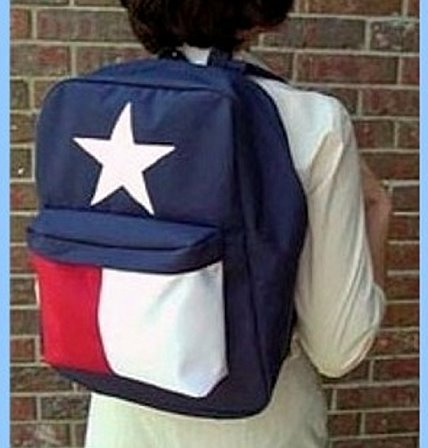 Texas Flag-Texas Size Backpack