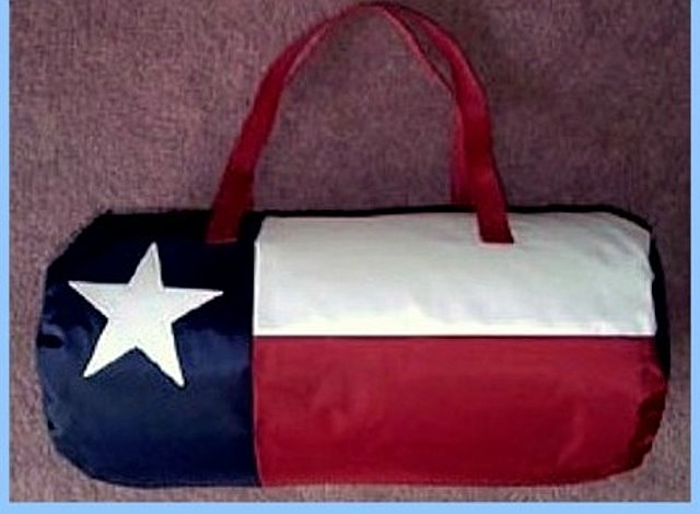 Texas Flag Duffel Bag