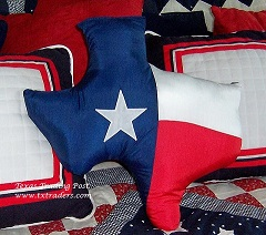 Texas Pillows, Blankets, Throws, Curtains