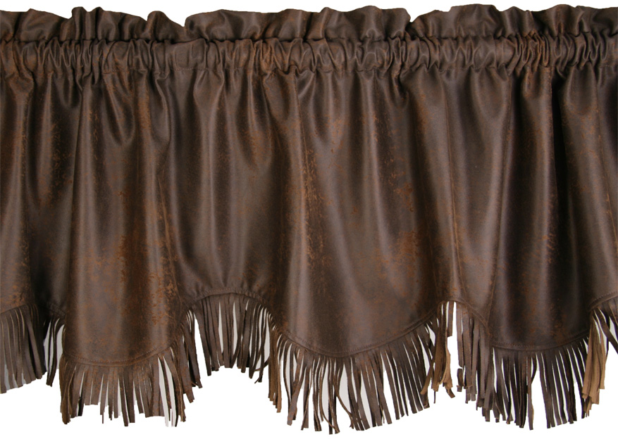 Valance-Dark Chocolate w/ Fringe