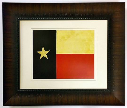 Texas Battle Flag  3rd Republic Flag