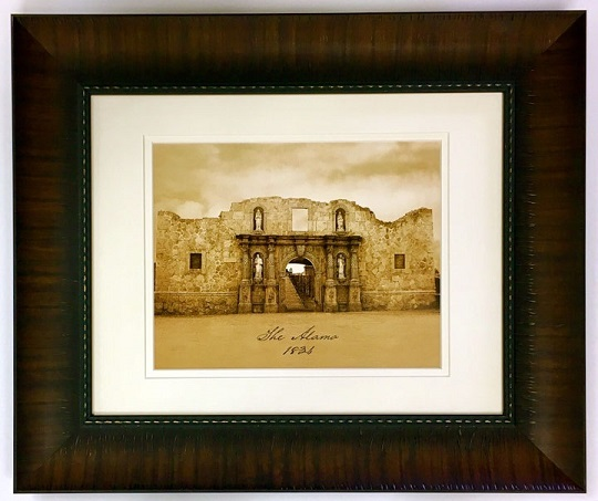 Framed Print - The Alamo