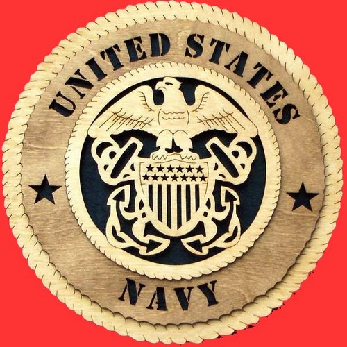 United States Navy Wall Plaque
