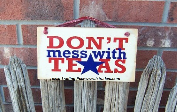 Texas Sign - Don't Mess with Texas