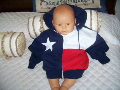 Texas Flag Kids Sweatshirt