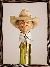 The Old Flirt - Texas Wine Stopper