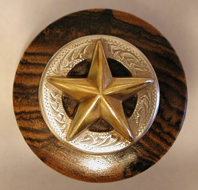Texas Wine Stopper with Texas Lone Star