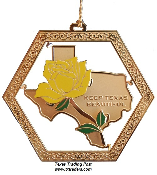 Keep Texas Beautiful Ornament 2011 - 8th Edition