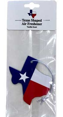 Texas Air Freshener for your Vehicle
