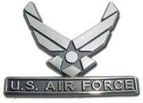 Car or Truck Auto Emblem - United States Air Force