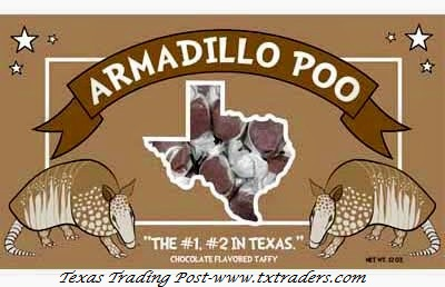 Armadillo Poo - Chocolate Covered Taffy
