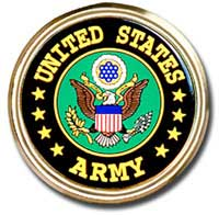 Car or Truck Emblem - United States Army