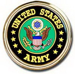 Car or Truck Auto Emblem - United States Army