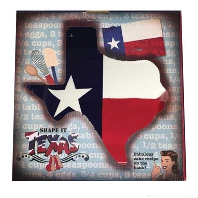 Texas Shaped Texas Baking Pan