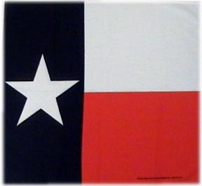 Texas Flag Bandana - Made in the USA