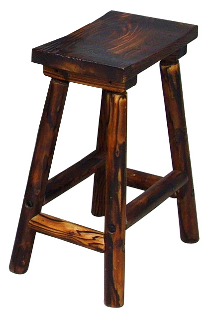 Texas Bar Saddle Stool