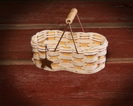 Peanut Shaped Texas Gift Basket or Decor