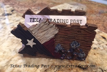 Texas and Bluebonnets Business Card holder