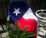 Luxurious Texas Flag Beach Towel