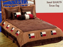 7 Piece Texas Flag Bedding - Super King