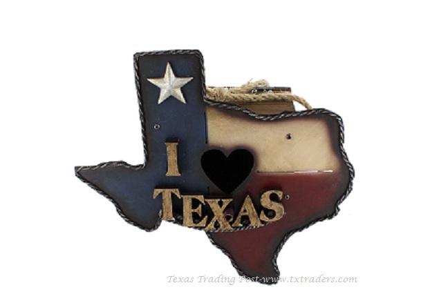 Bird House - Texas Flag Texas Shaped Bird House