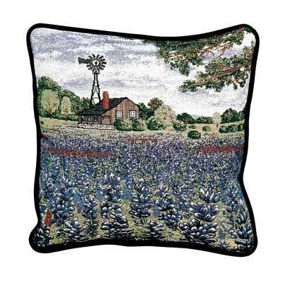 Pillow - Texas Bluebonnet Pillow-Texas Pillow