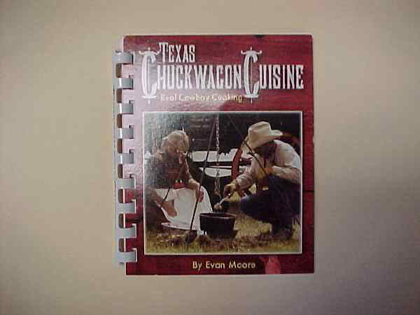 Recipe Book - Texas Chuckwagon Cuisine  Book