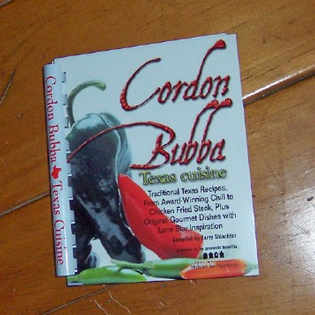 Recipe Book - Cordon Bubba