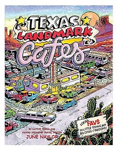 Texas Landmark Cafes - Book