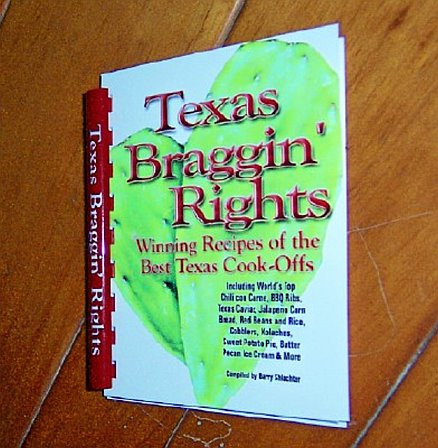 Recipe Book - Texas Braggin' Rights