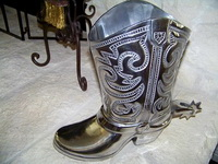 Boot Wine Holder or Planter
