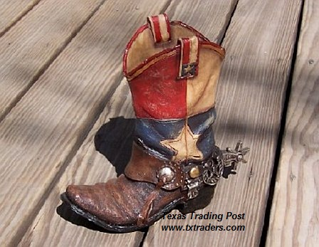 Texas Boot Planter