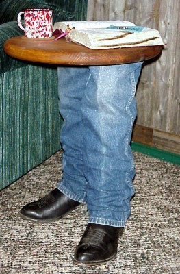 Cowboy Boot Table