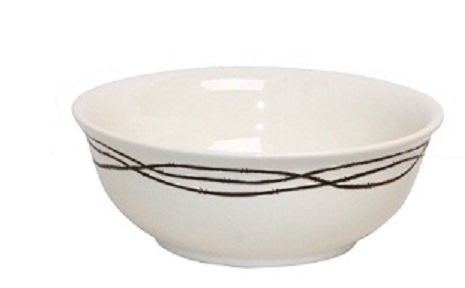 Texas Size Ceramic Serving Bowl