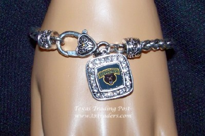 Baylor Bears - Blingy Bracelet with Baylor Bear