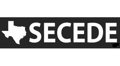 Secede - Texas Bumper Sticker