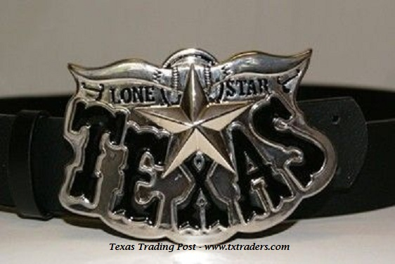 Buckle - Texas Lone Star Belt Buckle