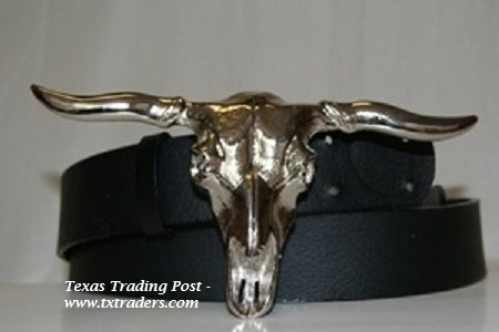 Buckle - Texas Longhorn Belt Buckle