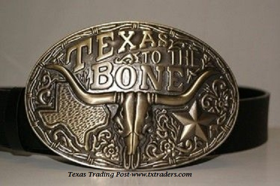 Buckle - Texas To The Bone Belt Buckle