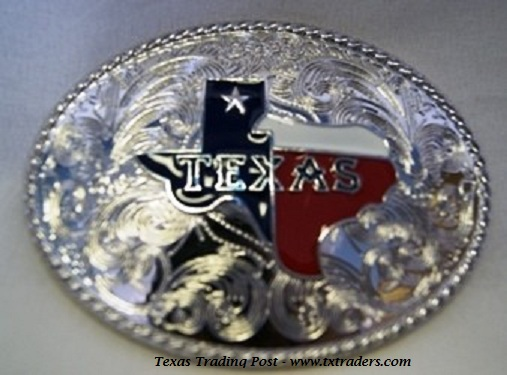 Buckle - Texas Map Belt Buckle