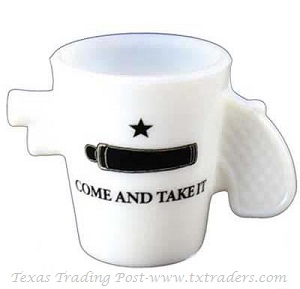Shot Glass  - Pistol Shaped Come and Take It