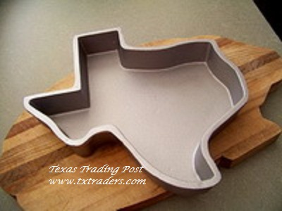 Cast Aluminum Texas Shaped Cake Pan