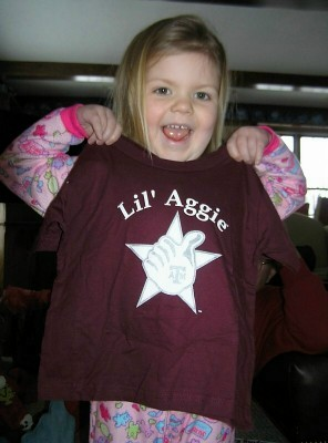 For our Little Texas Aggies - Apparel & Gifts