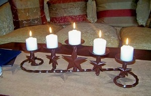 Texas Candles & Candle Holders