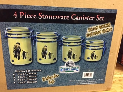 Dad & Son Kitchen Canister Set